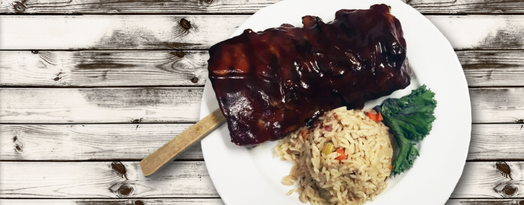 We've got the best ribs in town!